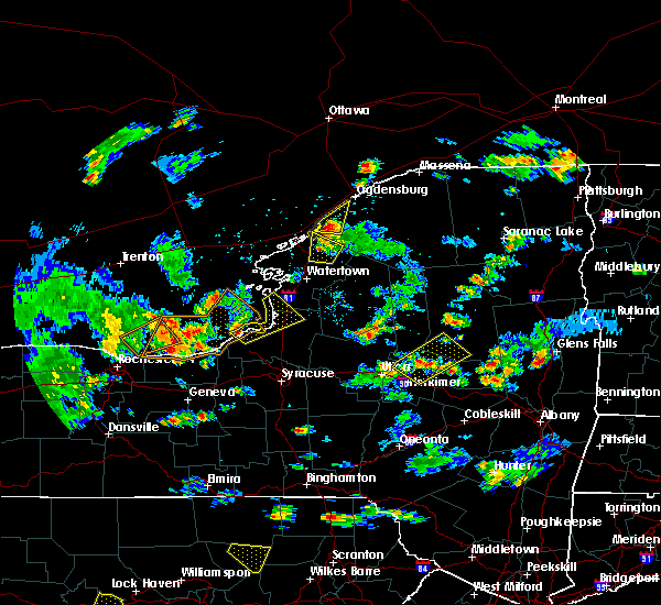 Radar Image for Severe Thunderstorms near Minetto, NY at 8/4/2017 4:32 PM EDT