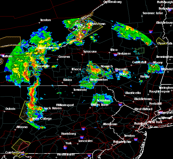 Radar Image for Severe Thunderstorms near Norwich, NY at 8/4/2017 5:55 PM EDT