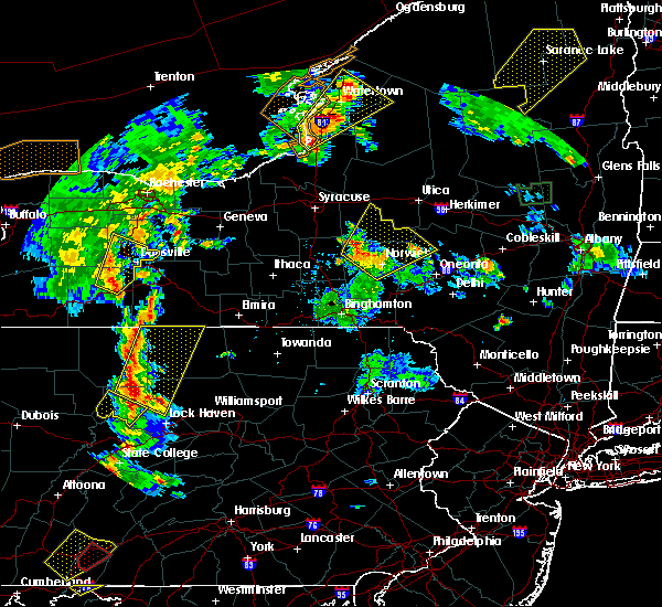 Radar Image for Severe Thunderstorms near Madison, NY at 8/4/2017 6:04 PM EDT
