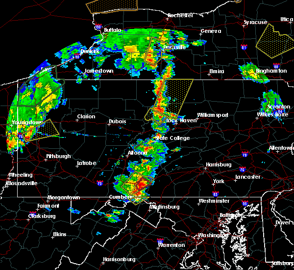 Radar Image for Severe Thunderstorms near Lawrenceville, PA at 8/4/2017 6:04 PM EDT