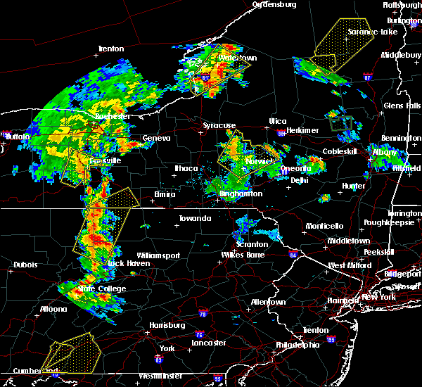 Radar Image for Severe Thunderstorms near Addison, NY at 8/4/2017 6:20 PM EDT