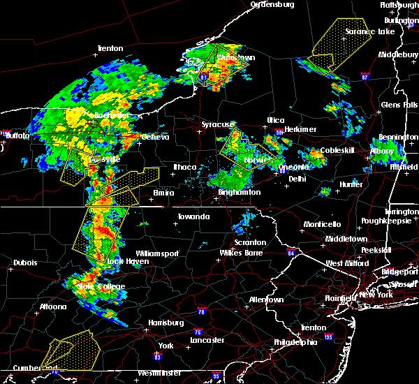 Radar Image for Severe Thunderstorms near Savona, NY at 8/4/2017 6:30 PM EDT