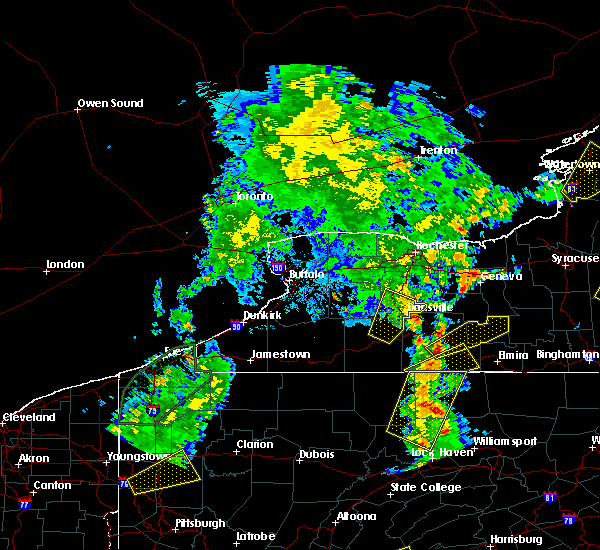 Radar Image for Severe Thunderstorms near Canaseraga, NY at 8/4/2017 6:29 PM EDT