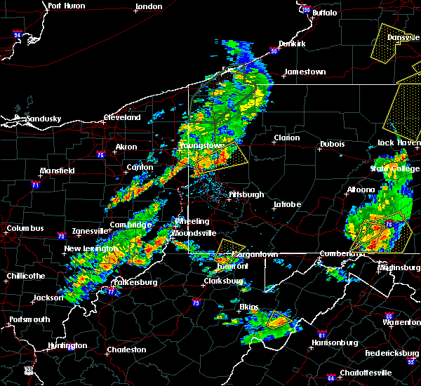 Radar Image for Severe Thunderstorms near Bobtown, PA at 8/4/2017 6:29 PM EDT