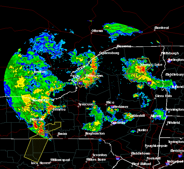 Radar Image for Severe Thunderstorms near Oxbow, NY at 8/4/2017 6:41 PM EDT