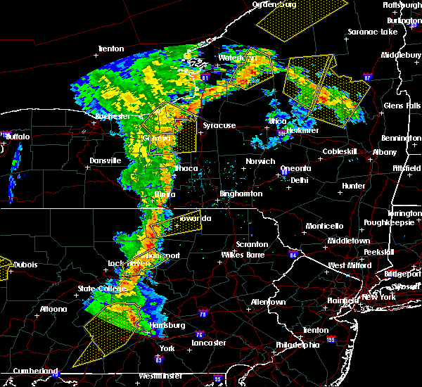 Radar Image for Severe Thunderstorms near Burlington, PA at 8/4/2017 7:55 PM EDT