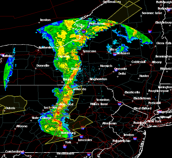 Radar Image for Severe Thunderstorms near Linntown, PA at 8/4/2017 8:19 PM EDT