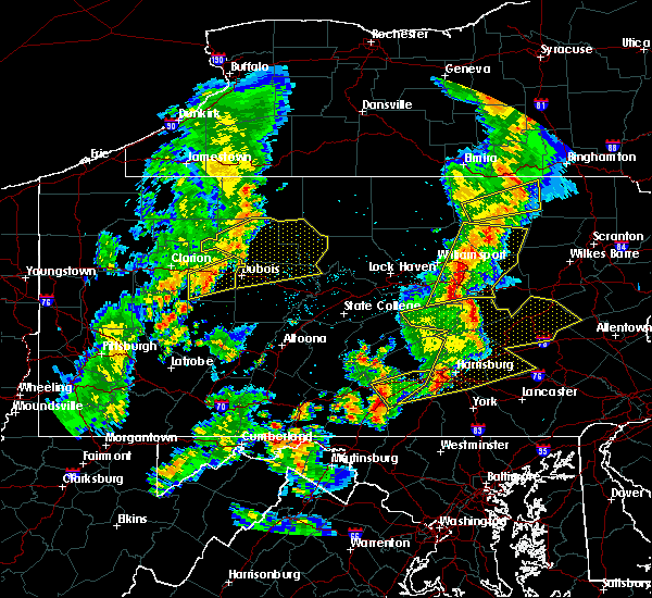 Radar Image for Severe Thunderstorms near Carlisle, PA at 8/4/2017 8:39 PM EDT