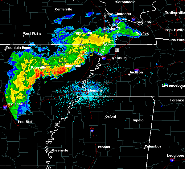 Radar Image for Severe Thunderstorms near Piggott, AR at 8/11/2017 12:05 PM CDT