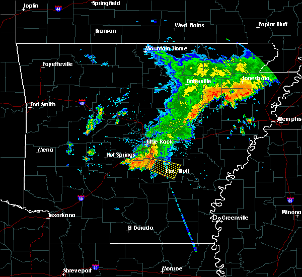 Radar Image for Severe Thunderstorms near White Hall, AR at 8/11/2017 12:24 PM CDT