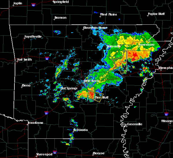 Radar Image for Severe Thunderstorms near White Hall, AR at 8/11/2017 12:45 PM CDT
