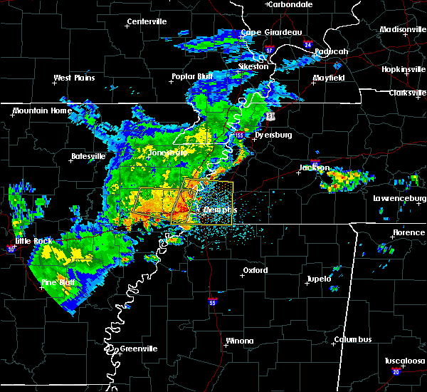 Radar Image for Severe Thunderstorms near West Memphis, AR at 8/11/2017 1:33 PM CDT