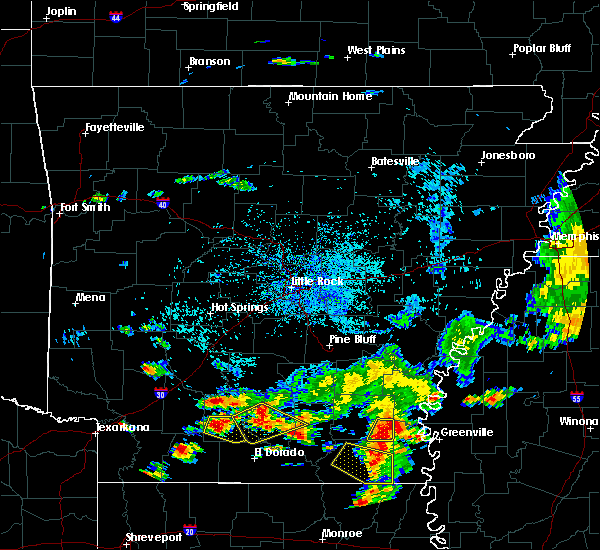 Radar Image for Severe Thunderstorms near Smackover, AR at 8/11/2017 3:34 PM CDT