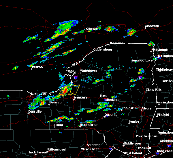 Radar Image for Severe Thunderstorms near Meridian, NY at 8/12/2017 2:12 PM EDT