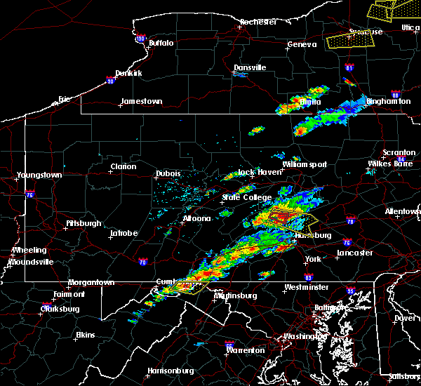 Radar Image for Severe Thunderstorms near Jonestown, PA at 8/12/2017 3:38 PM EDT