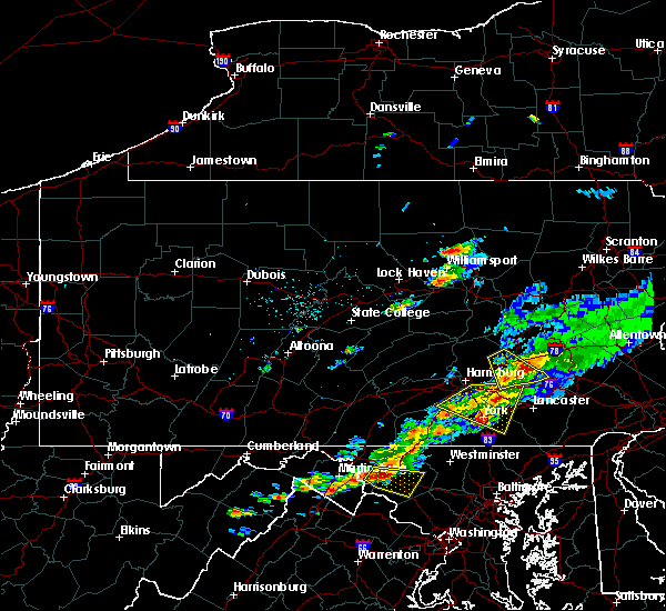 Radar Image for Severe Thunderstorms near Richland, PA at 8/12/2017 5:08 PM EDT