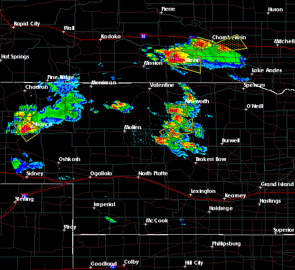 Radar Image for Severe Thunderstorms near Ainsworth, NE at 8/12/2017 4:20 PM CDT
