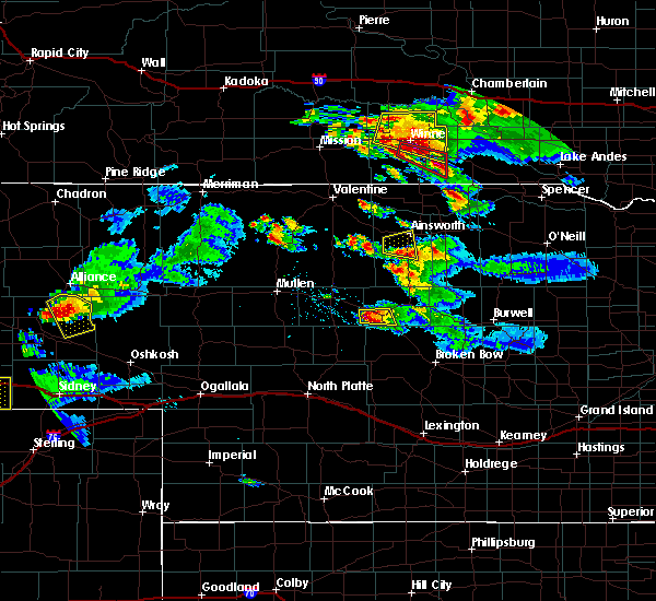 Radar Image for Severe Thunderstorms near Ainsworth, NE at 8/12/2017 4:57 PM CDT