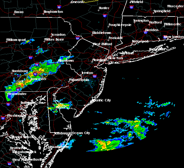 Radar Image for Severe Thunderstorms near Reiffton, PA at 8/12/2017 5:58 PM EDT