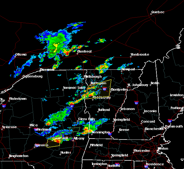 Radar Image for Severe Thunderstorms near South Burlington, VT at 8/12/2017 6:04 PM EDT
