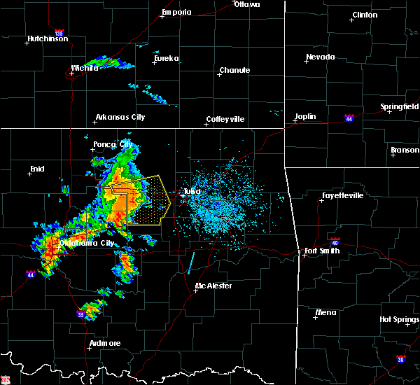 Radar Image for Severe Thunderstorms near Skiatook, OK at 8/15/2017 4:34 PM CDT