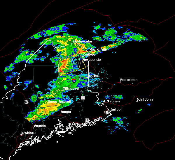 Radar Image for Severe Thunderstorms near Mars Hill, ME at 8/15/2017 8:44 PM EDT