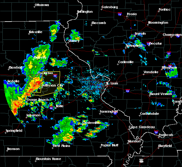 Radar Image for Severe Thunderstorms near Chamois, MO at 8/16/2017 2:20 PM CDT