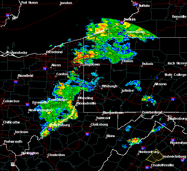Radar Image for Severe Thunderstorms near Girard, OH at 8/17/2017 7:46 PM EDT