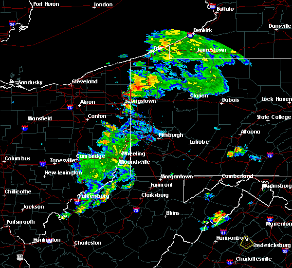 Radar Image for Severe Thunderstorms near Vienna Center, OH at 8/17/2017 8:09 PM EDT