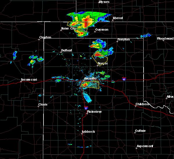 Radar Image for Severe Thunderstorms near Stinnett, TX at 8/17/2017 8:10 PM CDT