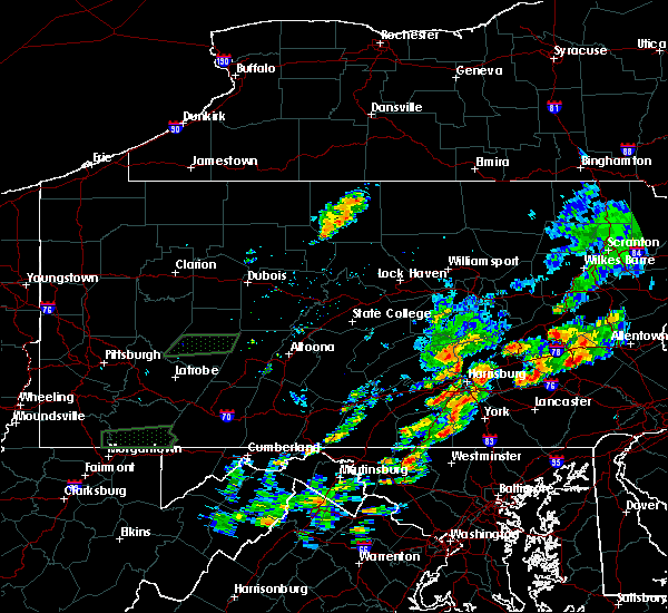 Radar Image for Severe Thunderstorms near Quentin, PA at 8/18/2017 3:04 PM EDT