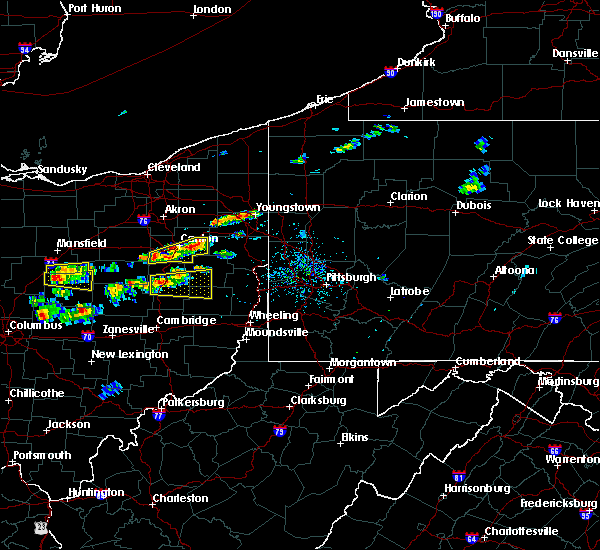 Radar Image for Severe Thunderstorms near Tuscarawas, OH at 8/19/2017 2:18 PM EDT