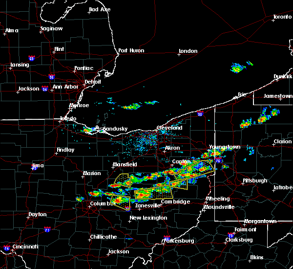 Radar Image for Severe Thunderstorms near Tuscarawas, OH at 8/19/2017 2:45 PM EDT