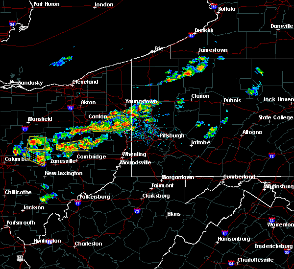 Radar Image for Severe Thunderstorms near Tuscarawas, OH at 8/19/2017 3:07 PM EDT