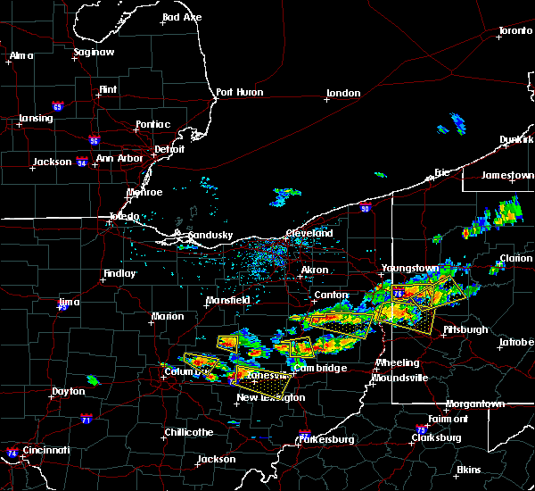 Radar Image for Severe Thunderstorms near Howard, OH at 8/19/2017 3:28 PM EDT