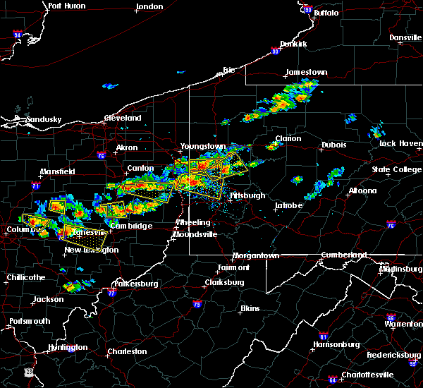 Radar Image for Severe Thunderstorms near Tuscarawas, OH at 8/19/2017 3:28 PM EDT