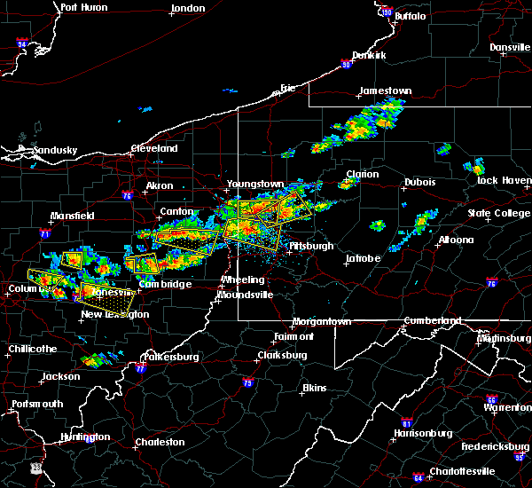 Radar Image for Severe Thunderstorms near Calcutta, OH at 8/19/2017 3:33 PM EDT