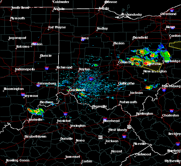 Radar Image for Severe Thunderstorms near St. Louisville, OH at 8/19/2017 3:33 PM EDT