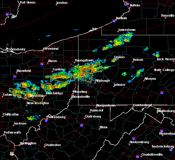 Radar Image for Severe Thunderstorms near Calcutta, OH at 8/19/2017 3:34 PM EDT