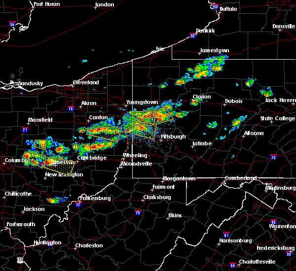 Radar Image for Severe Thunderstorms near West Pittsburg, PA at 8/19/2017 3:36 PM EDT