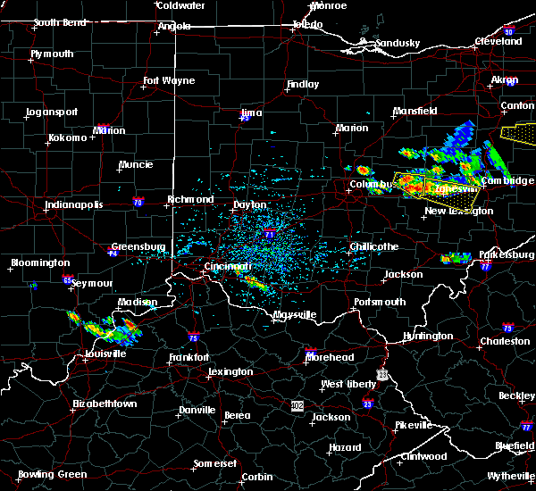Radar Image for Severe Thunderstorms near St. Louisville, OH at 8/19/2017 3:52 PM EDT