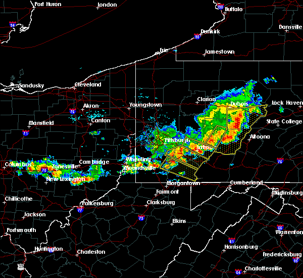 Radar Image for Severe Thunderstorms near Youngstown, PA at 8/19/2017 5:24 PM EDT