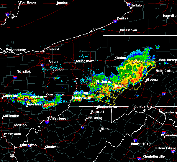 Radar Image for Severe Thunderstorms near Calumet, PA at 8/19/2017 5:27 PM EDT