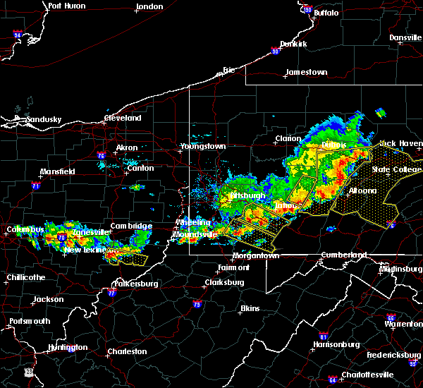 Radar Image for Severe Thunderstorms near Caldwell, OH at 8/19/2017 5:33 PM EDT