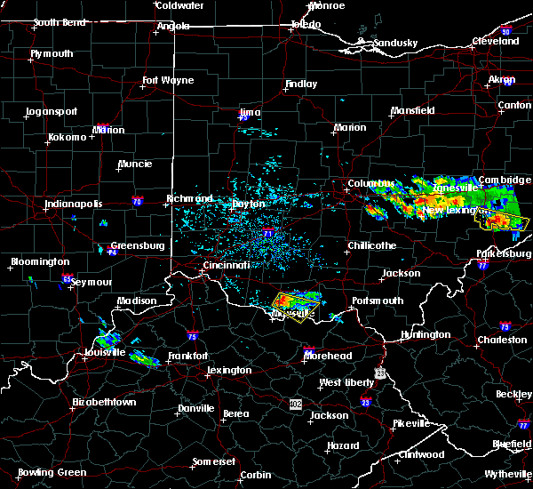 Radar Image for Severe Thunderstorms near West Union, OH at 8/19/2017 5:48 PM EDT