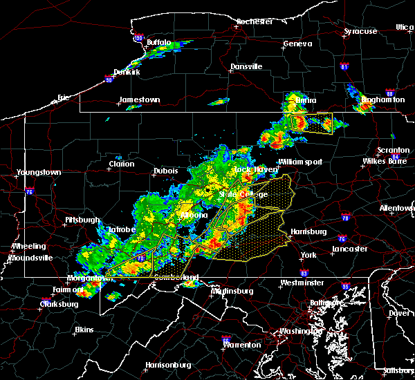 Radar Image for Severe Thunderstorms near Woodward, PA at 8/19/2017 6:49 PM EDT