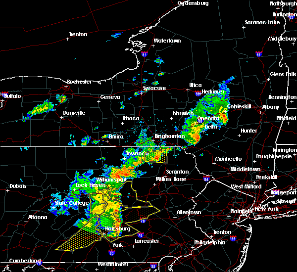 Radar Image for Severe Thunderstorms near Hometown, PA at 8/19/2017 7:59 PM EDT