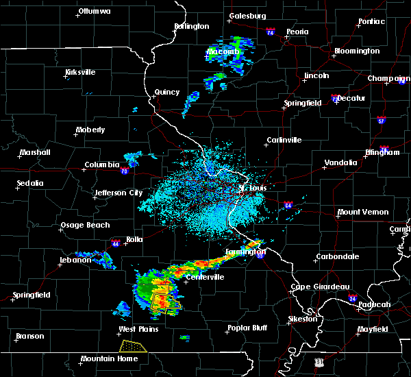 Radar Image for Severe Thunderstorms near Eminence, MO at 8/20/2017 12:54 PM CDT