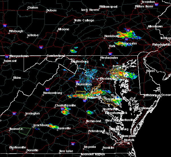 Radar Image for Severe Thunderstorms near Southern Gateway, VA at 8/21/2017 6:08 PM EDT