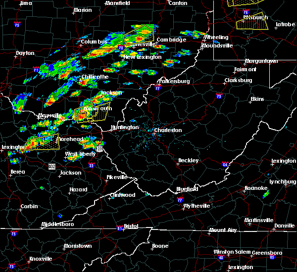 Radar Image for Severe Thunderstorms near Greenup, KY at 8/22/2017 2:04 PM EDT